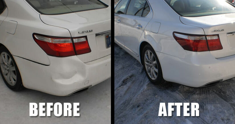 Auto Body Repair Before & After